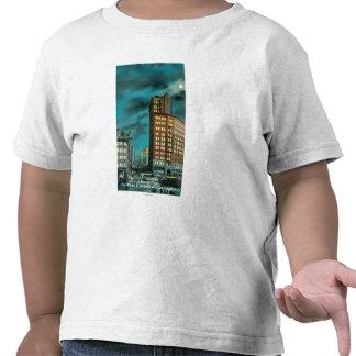 Night View up Kearney St at Chronicle Bldg Shirt