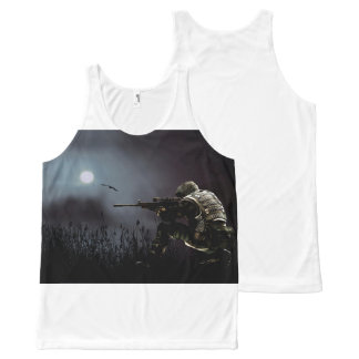 Night Vision All-Over Print Tank Top