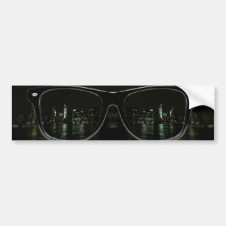 Night Vision Bumper Sticker