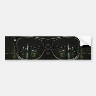 Night Vision Car Bumper Sticker