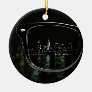 Night Vision Ceramic Ornament