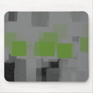 """""""Night Vision"""" Geometric Abstract Mouse Pad"""