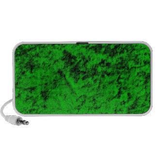 Night Vision Green Velvet Speakers