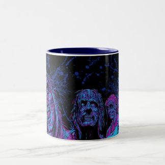 Night Vision Surprise - Funky Two-Tone Coffee Mug