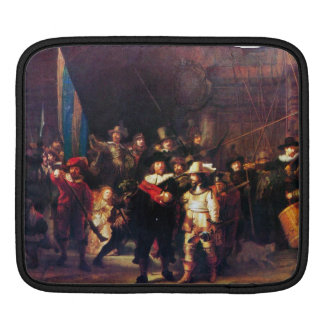 Night Watch by Rembrandt Harmenszoon van Rijn Sleeve For iPads