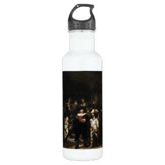 Night Watch by Rembrandt 24oz Water Bottle