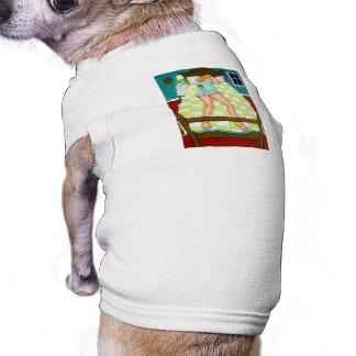 Night Watch - Chihuahua on duty Doggie T Shirt