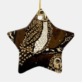 Night WatchersIMG_0247.JPG Ceramic Ornament