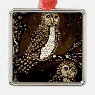 Night WatchersIMG_0247.JPG Metal Ornament