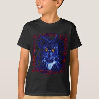 night watchman flies hunting silence watching bosq T-Shirt