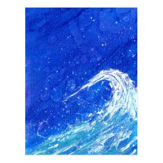 Night Wave Postcard