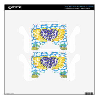 NIGHT WINGED HEART by Ruth I. Rubin Skins For PS3 Controllers