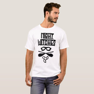 Night Witches Mens T shirt White Relaxed