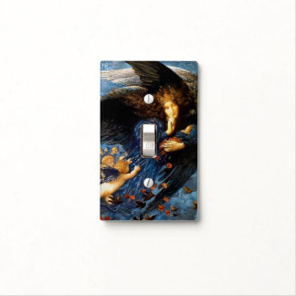 Night With Her Train Of Stars - Switch Plate