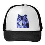 Night Wolf Trucker Hat