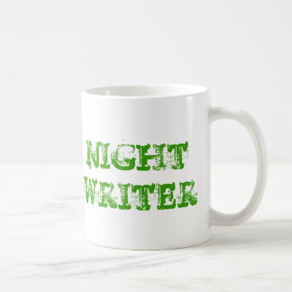 NIGHT WRITER TYPEWRITER MUG