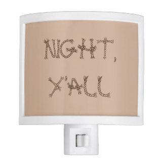 Night, Y'all Night Light