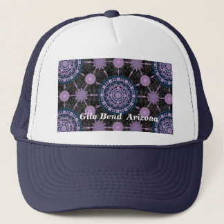 Nightblooming Cactus Mandala Array Hat