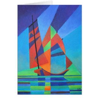 Nightboat Greeting Card