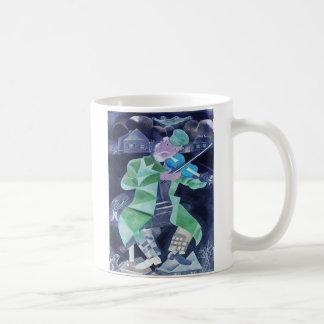 Nightcap Music. Classic White Coffee Mug