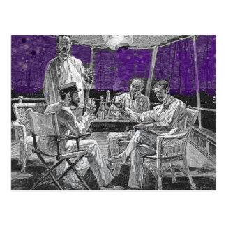 Nightcap on the Yacht Postcard