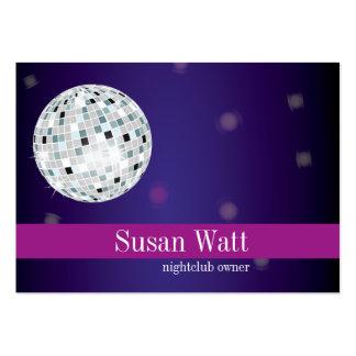 Nightclub Disco Ball Business Card