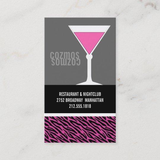 Nightclub or bartender business cards zazzle nightclub or bartender business cards colourmoves