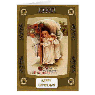 Nightdresses in the snow card