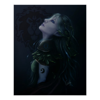 NightElf Druid Poster
