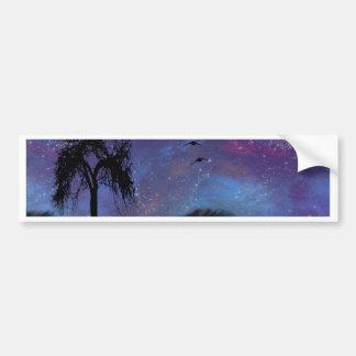 Nightfall Car Bumper Sticker