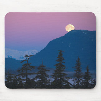 Nightfall in Alaska Mouse Pad