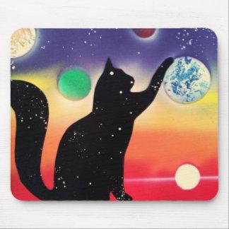 Nightfall Kitty Mouse Pad