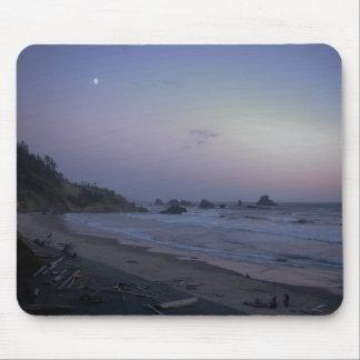 Nightfall on Indian Beach Mouse Pad