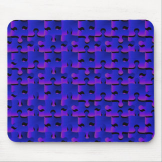 Nightfall Puzzle Pieces Mouse Pad