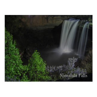 """Nightfall/Waterfall"" - Noccalula Falls Postcard"