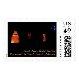 Nightfall Windows Stubb Creek Guard Station Stamp