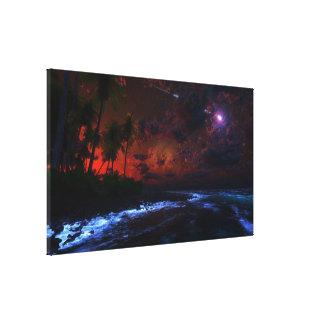 Nightfall Wrapped Canvas Canvas Print