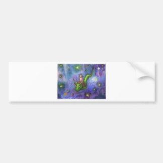 Nightflight Bumper Sticker
