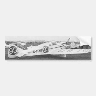 Nighthawk Airplane 1953 Bumper Sticker