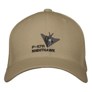 Nighthawk de F-117A Gorra De Béisbol Bordada