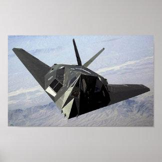 Nighthawk F-117 Póster