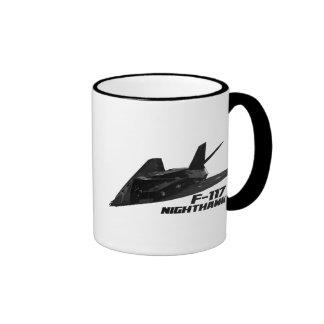 Nighthawk F-117 Taza De Dos Colores