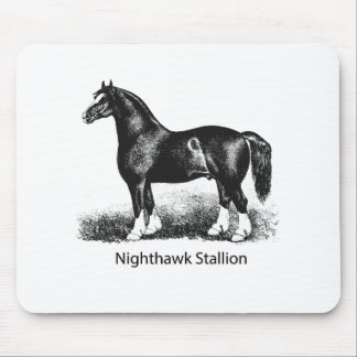 Nighthawk StallionProduct Selected Multiple Mouse Pad