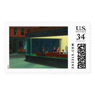 Nighthawks by Edward Hopper Stamps