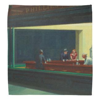 Nighthawks de Edward Hopper Bandanas