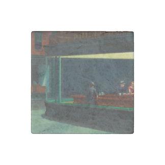 Nighthawks de Edward Hopper Imán De Piedra