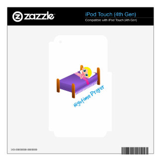 Nightime Prayer iPod Touch 4G Skin