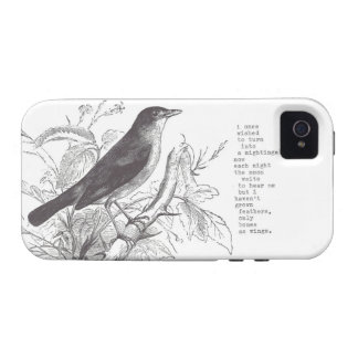 """nightingale"" iphone 4/4s Case-Mate iPhone 4 cover"