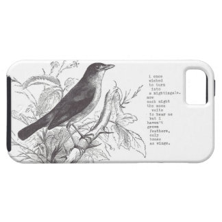 """nightingale"" iphone 5 iPhone 5 cover"