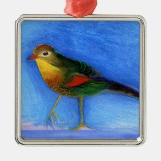 Nightingale Light 2012 Metal Ornament